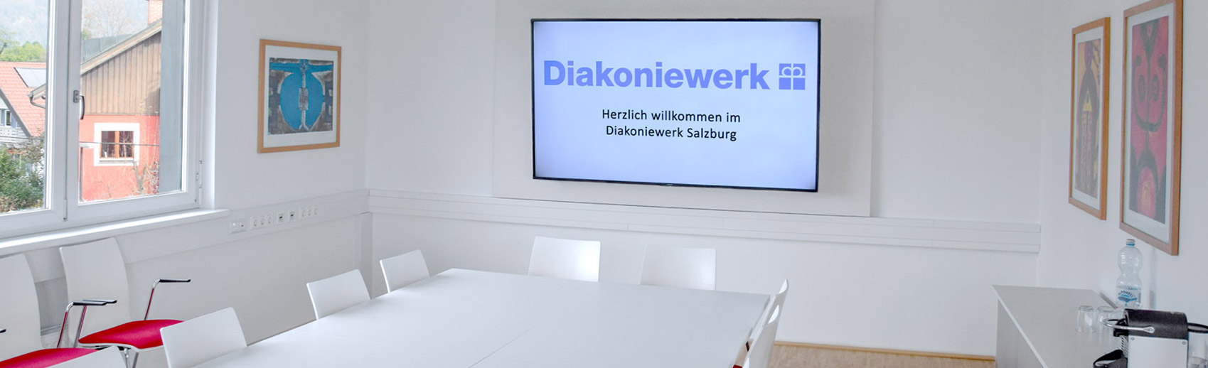 Besprechungsraum im Diakoniewerk Salzburg