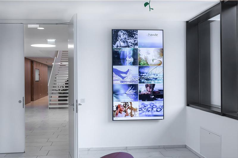 Digital Signage - Einsatz digitaler Medien bei Werbe- und Informationssystemen