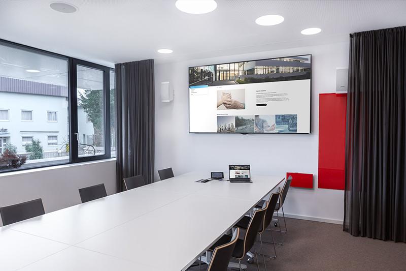 Einsatz von  Displays / Großbildschirme, Videowände, Digital Signage Displays sowie Touchdisplay