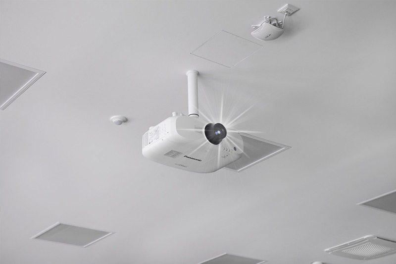 Overheadprojektor im Einsatz